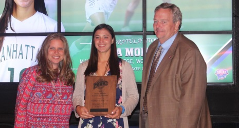 MSC Alum Erica Modena Named MAAC Offensive Player of the Year!